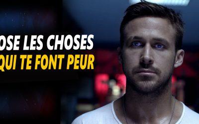 OSE LES CHOSES QUI TE FONT PEUR – Vidéo de motivation en français – #LundiMotivation