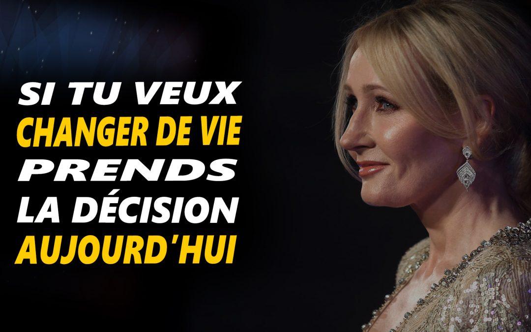 CHANGE DE VIE – PRENDS LA DÉCISION AUJOURD'HUI- Vidéo de motivation en français – #LundiMotivation
