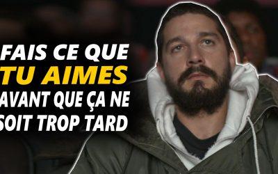 FAIS CE QUE TU AIMES TOUS LES JOURS – Vidéo de motivation en français – #LundiMotivation