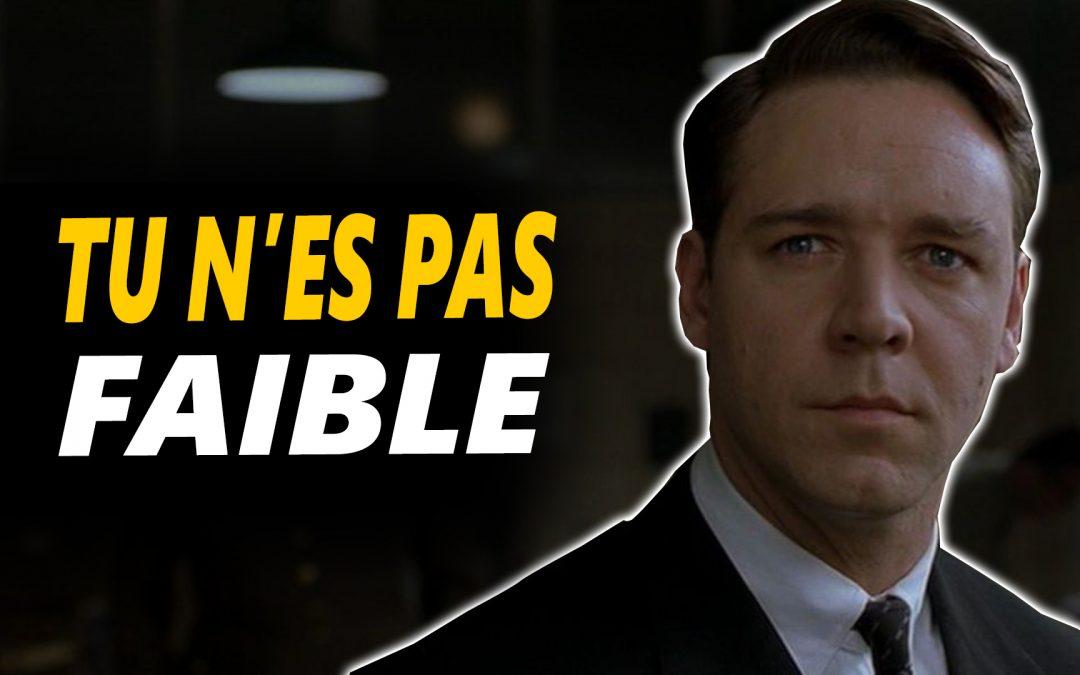 TU N'ES PAS FAIBLE – Vidéo de motivation en français- – #LundiMotivation