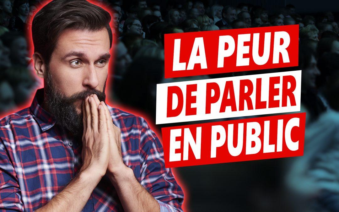 Éliminez la peur de prise de parole en public