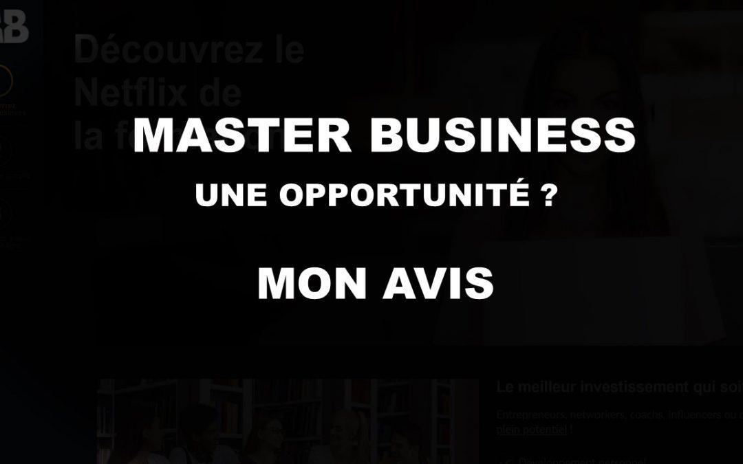 Master Business Avis